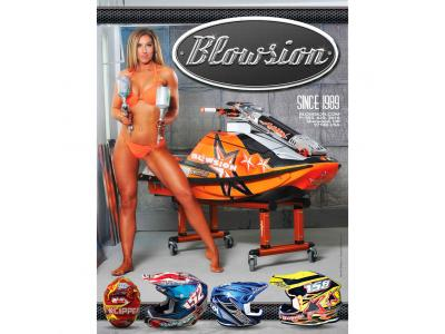 Blowsion Pro Rider Magazine - Full Page Swimsuit Edition Ad - 2016 - Tiffany