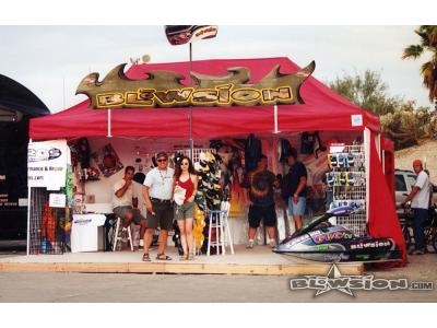 Blowsion display- 2001 Lake Havasu World Finals