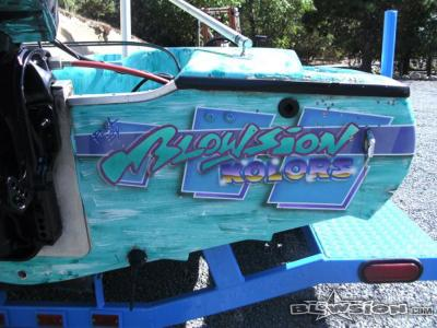 Blowsion Silver Surfer Bad Billy Ski Boat - 1996