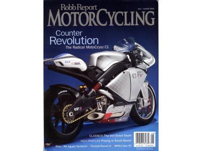 Motoczysz Magazine Cover