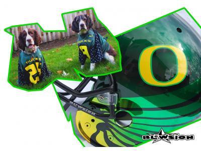 Blowsion Custom Paint - Oregon Ducks