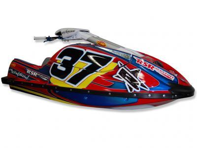 Jordan Fielder #37 Pro Stock Class Racing Kawasaki SXR