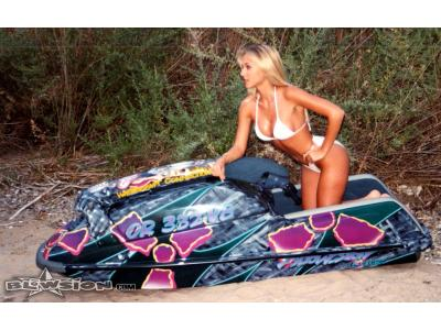 Blowsion Custom Painted FX1 - Lake Havasu Splash Magazine Shoot with Tom Kerker- 1995