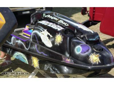 Blowsion Custom Painted 550SX- Silver Surfer theme - 1991