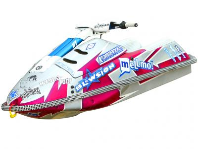 Jerry Jones Custom Painted Yamaha Superjet