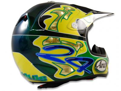 Blowsion Blowsion Custom Painted Motocross Helmets