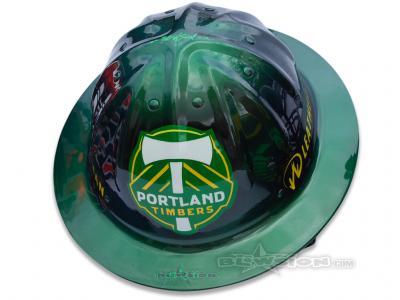Blowsion Custom Painted Timber Joey Promotional Helmet #2