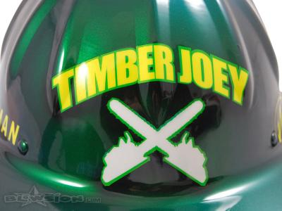 Blowsion Custom Painted Timber Joey Promotional Helmet #1