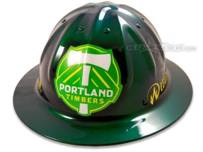 Blowsion Custom Painted Timber Joey Promotional Helmet #1
