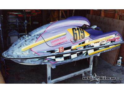 Blowsion Watercraft Connection Race 750 - Tracy Shaffner - 1993