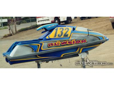 Blowsion Custom Painted Yamaha Super Jet - 2000