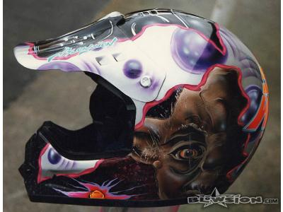 Blowsion Custom Painted Star Wars Theme Shoei VFX Motocross Helmet- 1997