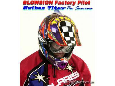 Blowsion Pro Snocrosser Nathan Titus - 2000