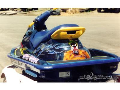 Blowsion Custom Painted Sea Doo sitdown- 2002