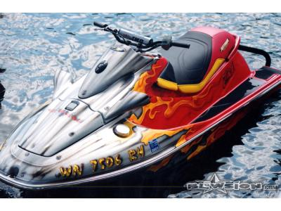 Blowsion Custom Painted Sea Doo sitdown- 2003