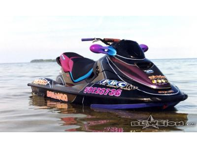 Blowsion Custom Painted Sea Doo Sitdown - PWCtv edition - 2002