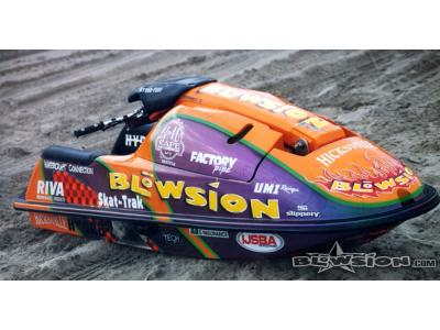 Blowsion Custom Painted Super Jet - Pro Freestyler Jeff Dawson - 1998