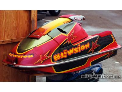 Blowsion Custom Painted Super Jet - Pro Freestyler Jeff Dawson 1999