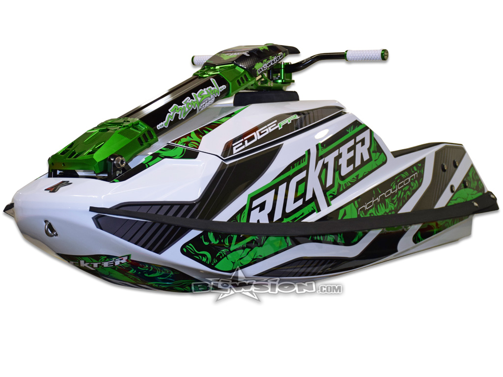Blowsion Rickter Edge - White & Green
