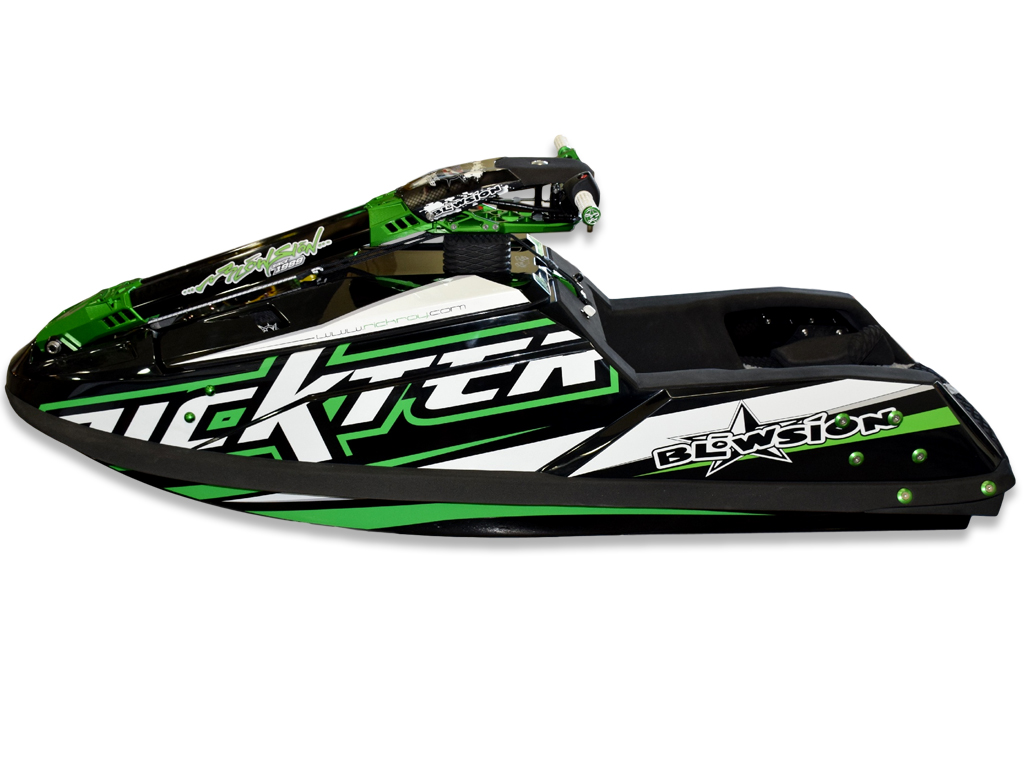 Blowsion Rickter EVO 701 Black + Green