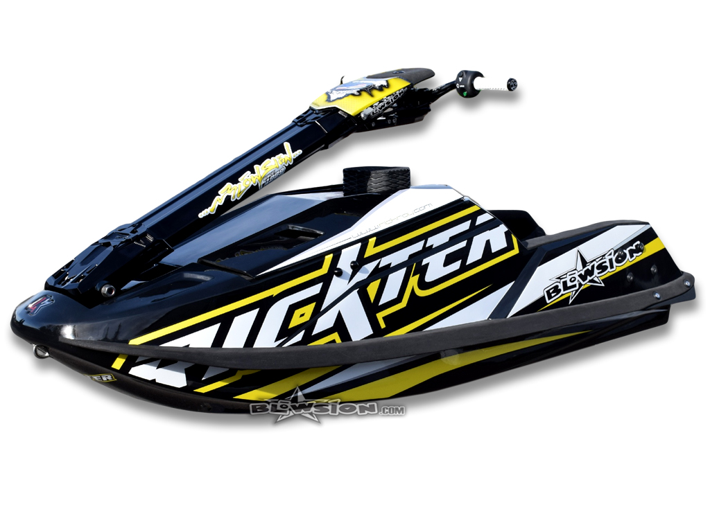Blowsion Rickter EVO - Black & Yellow