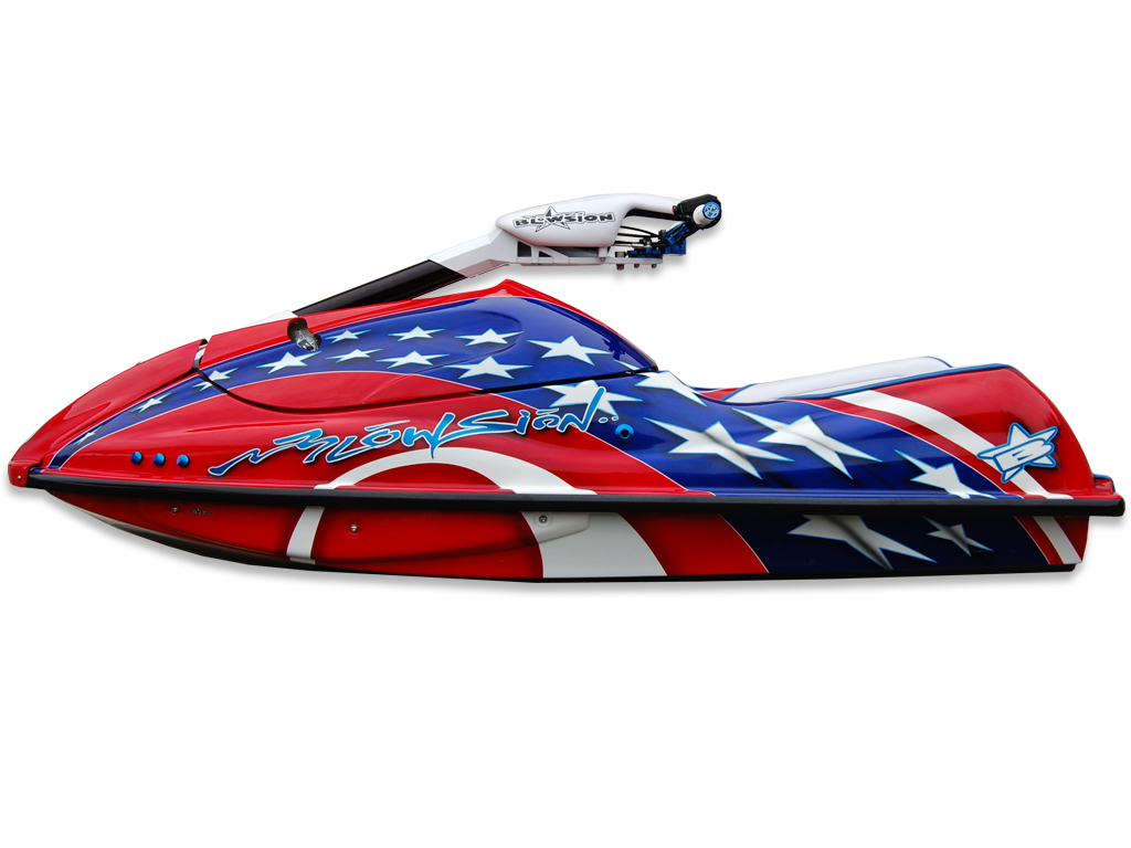 Blowsion Stars and Stripes Kawasaki SXR For Sale